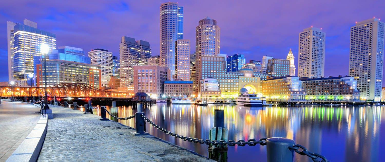 View of Boston