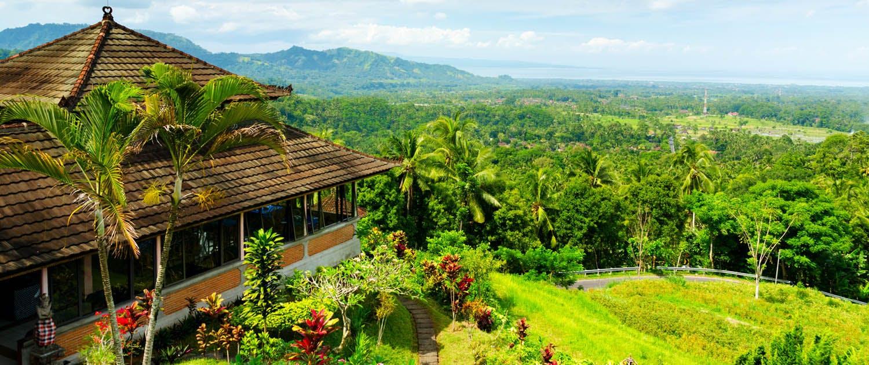 View of Bali