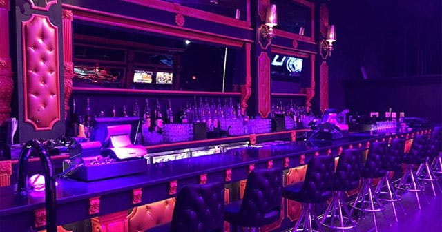 View of the interior of Gold Rush Cabaret after getting free guest list