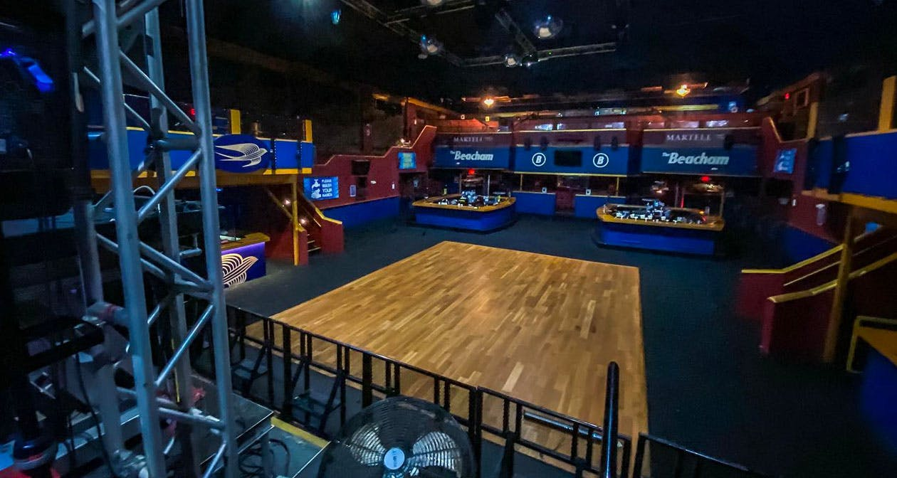 Inside look of The Beacham after getting free guest list