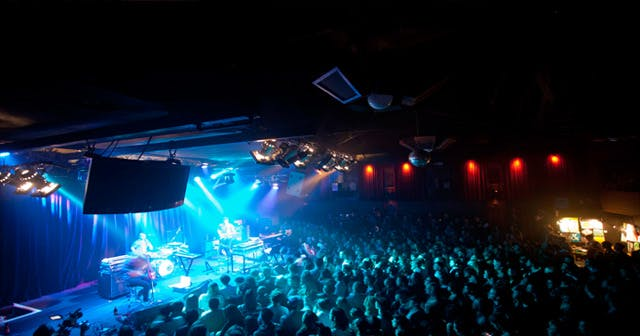 View of the interior of The Independent after buying tickets