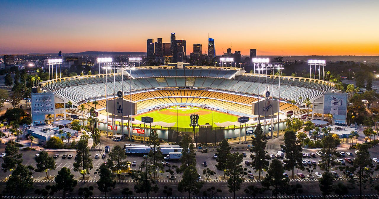 Inside look of Dodger Stadium after getting free guest list