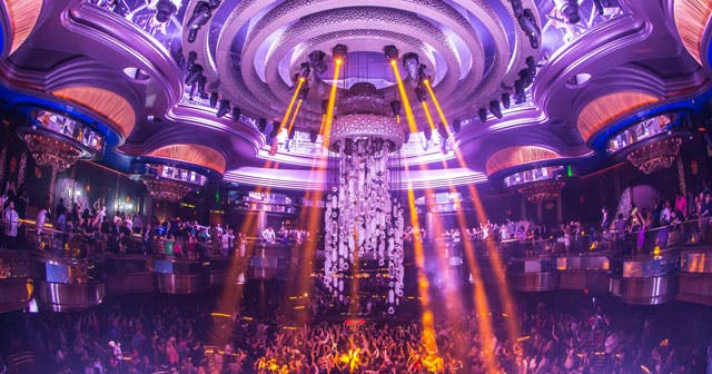 View of the interior of Omnia after getting free guest list